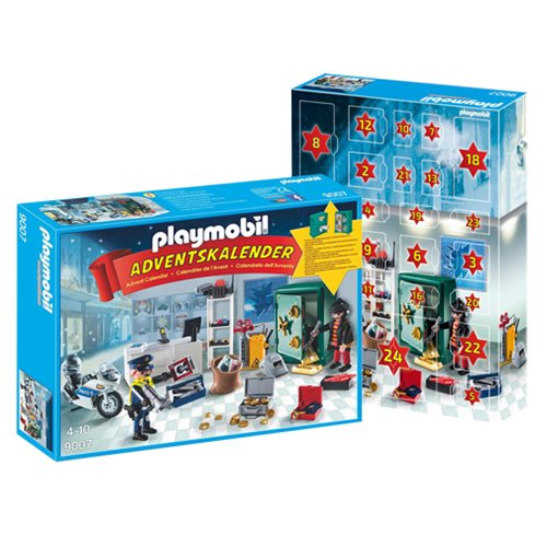 Playmobil 9007 Advent Calender Jewel Thief Police Operation