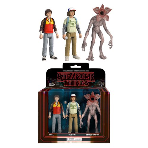 Stranger Things Action Figure 3-Pack Set #2