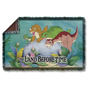The Land Before Time Woven Tapestry Blanket