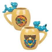 Grateful Dead Dancing Bears 18 oz. Sculpted Oval Ceramic Mug