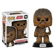 Star Wars: The Last Jedi Chewbacca Pop! Vinyl Bobble Head #195