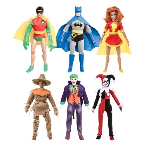 DC Comics Kresge Style 8-Inch Retro Action Figures Series 3 Set