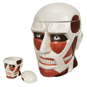 Attack on Titan Colossal Titan Ceramic Cookie Jar