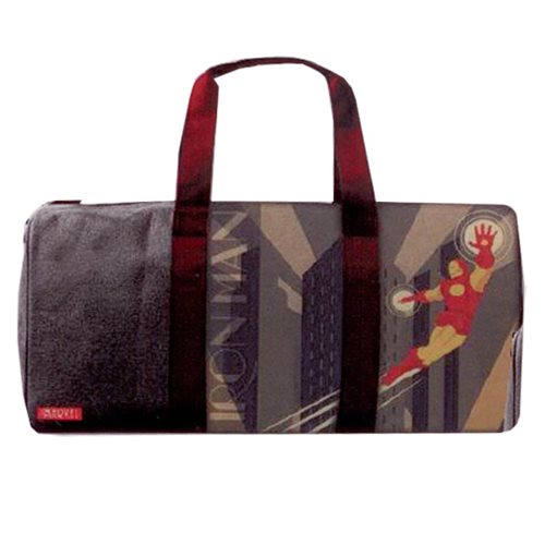 Marvel Comics Iron Man Deco Sports Duffle Bag
