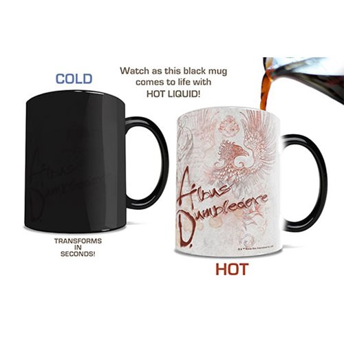Fantastic Beasts: The Crimes of Grindelwald Professor Dumbledore Heat-Sensitive Morphing Mug