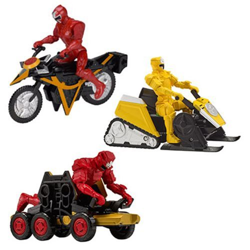 Power Rangers Super Ninja Steel Mega Morph Vehicles Wave 1 Case