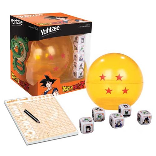 Dragon Ball Z Yahtzee