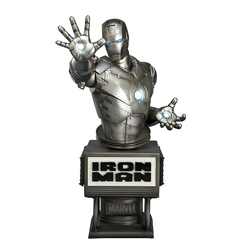 Iron Man Movie Mark II Fine Art Bust