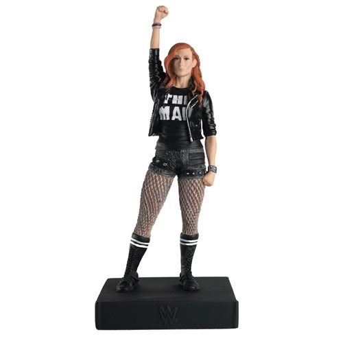 WWE Championship Collection Becky Lynch Statue with Collector Magazine