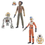 Star Wars Resistance Action Figure 2-Packs Wave 1 Set