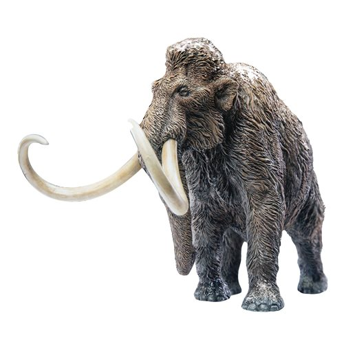 Wonder Wild Series Wooly Mammoth Polyresin Statue