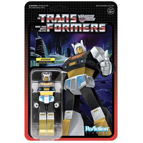 Transformers Stepper 3 3/4-Inch ReAction Figure