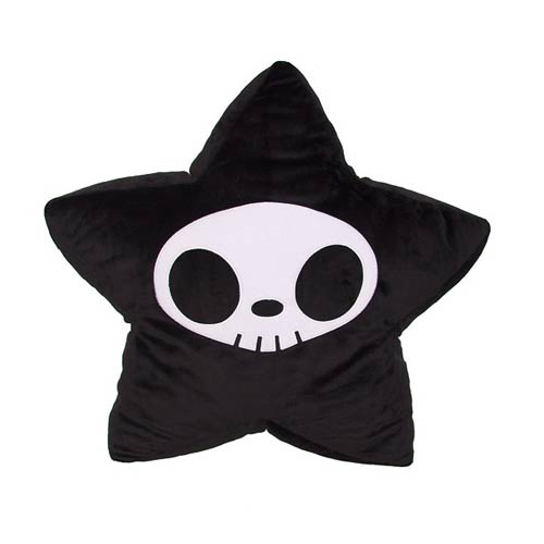 Tokidoki Adios Star Black Pillow