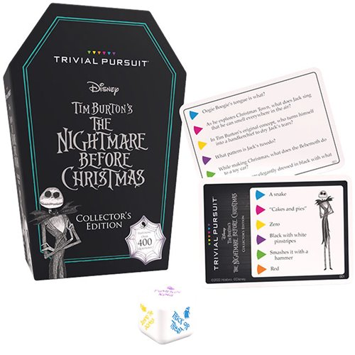 Nightmare Before Christmas Quick Play Trivial Pursuit