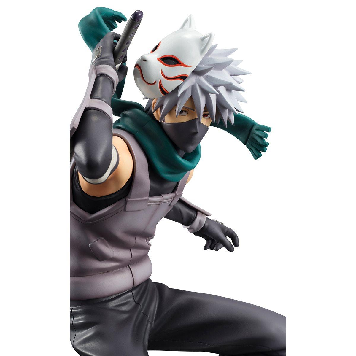 Naruto Kakashi Hatake Anbu Ver G E M 1 8 Scale Statue Rerun