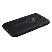 Android Circuit Design Galaxy Note II Phone Case, Not Mint