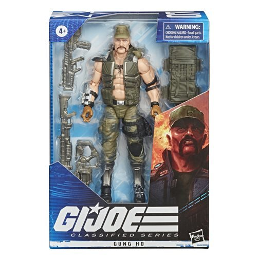 G.I. Joe Classified Series 6-Inch Gung Ho Action Figure