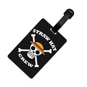 One Piece Skull Luffy Luggage Tag