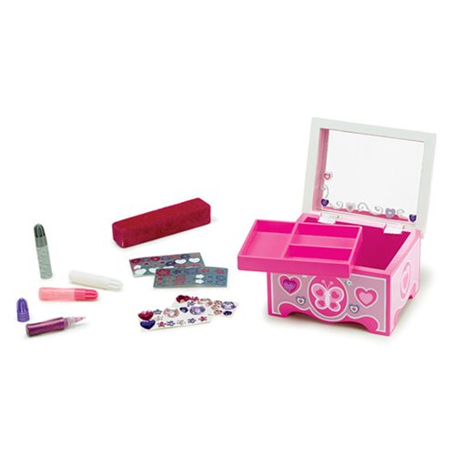 Melissa & Doug Created by Me! Jewelry Box Wooden Craft Kit