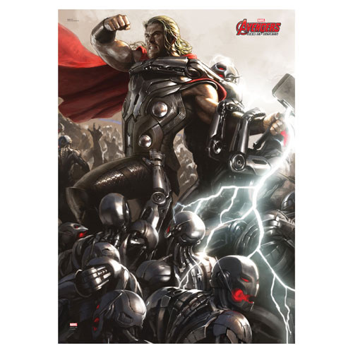 Avengers Age Of Ultron Thor Mightyprint Wall Art Print