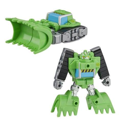 Transformers Rescue Bots Academy Rescan Boulder the Construction Bot