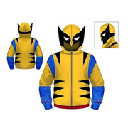 Wolverine Juvy Hooded Costume Fleece Zip-Up Sweatshirt