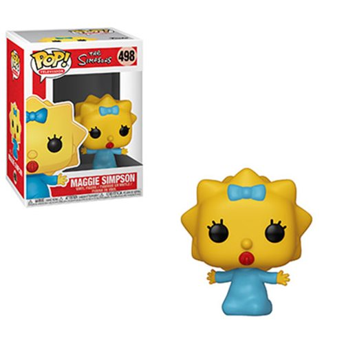 Simpsons Maggie Pop! Vinyl Figure, Not Mint