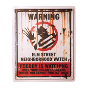 Nightmare on Elm Street Neighborhood Watch Sign
