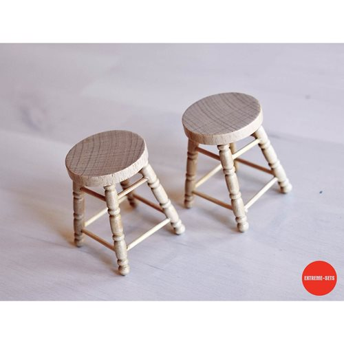 Bar Stools 1:12 Scale Set