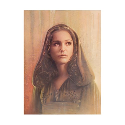 Star Wars Timeless Series Padme Amidala by Jerry Vanderstelt Paper Giclee Art Print