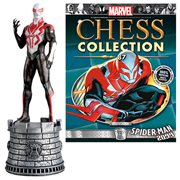 Marvel Amazing Spider-Man 2009 White Rook Chess Piece with Collector Magazine #87