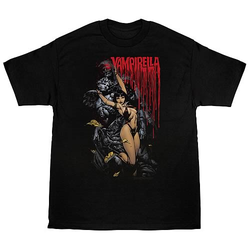 Vampirella Blood and Stone T-Shirt