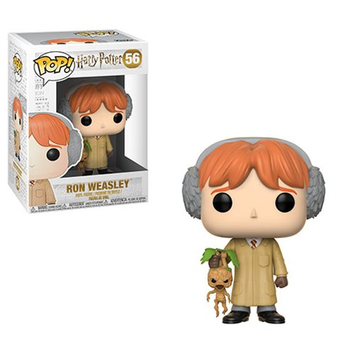 Harry Potter Ron Weasley Herbology Pop! Vinyl Figure #56, Not Mint