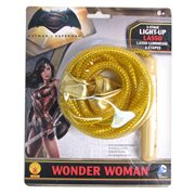 Batman v Superman: Dawn of Justice Wonder Woman Light-Up Lasso of Truth