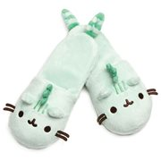 Pusheen the Cat Pusheenosaurus Green Slippers