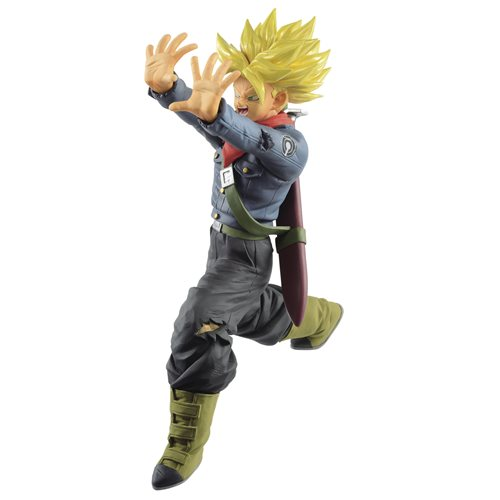 Dragon Ball Super Future Trunks Galick Gun Statue