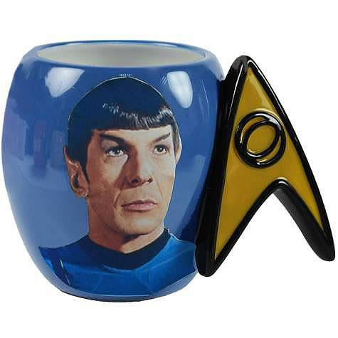 Star Trek Spock Delta Shield Mug