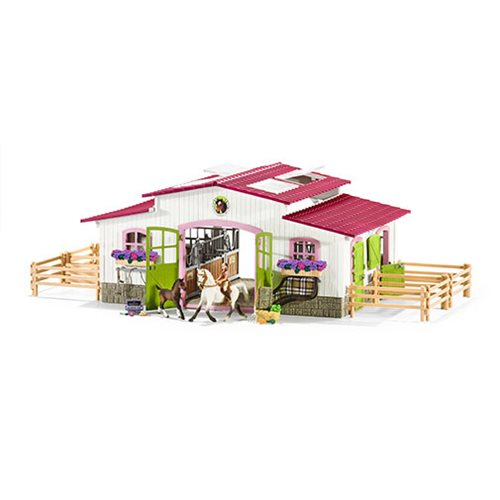 Horse Club Riding Center Playset
