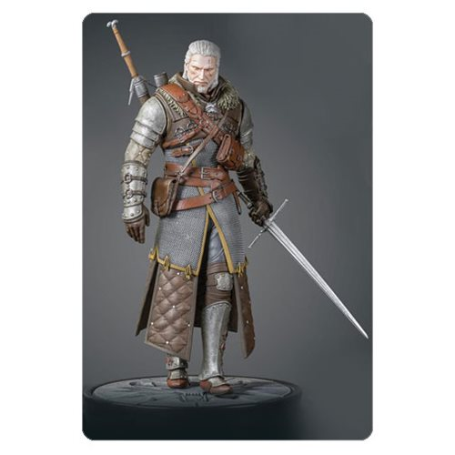 The Witcher 3: Wild Hunt Geralt Grandmaster Ursine Figure
