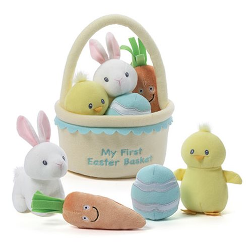 My First Easter Basket Plush Playset