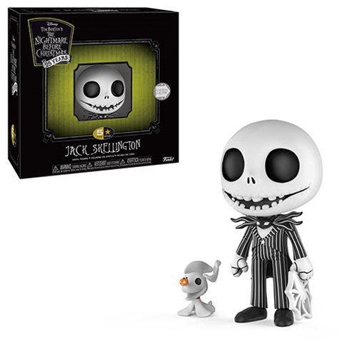 the nightmare before christmas jack skellington 5 star vinyl figure - Christmas Jack Skellington