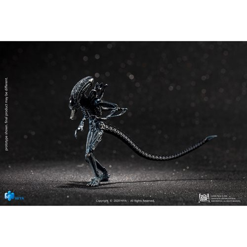 Aliens Blue Alien Warrior 1:18 Scale Action Figure - Previews Exclusive