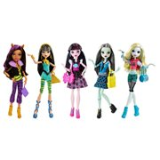Monster High Signature Look Dolls 5-Pack
