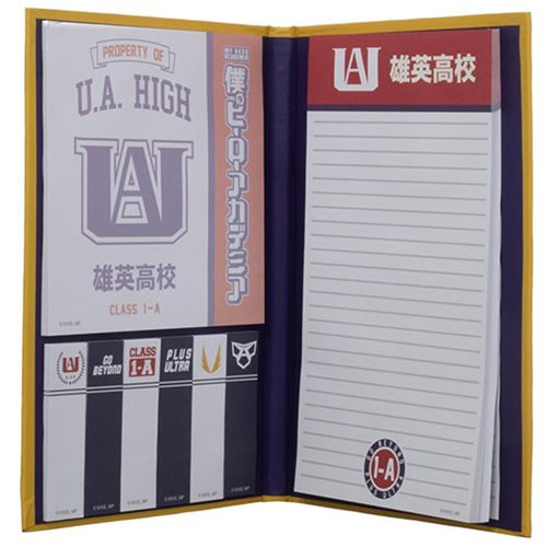 My Hero Academia UA Academy Sticky Notebook