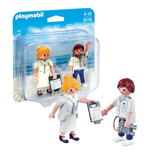 Playmobil 9216 Cruise Ship Officers Action Figures