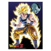 Dragon Ball Z Super Saiyan Goku Wall Scroll