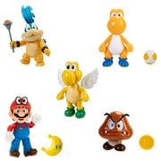 World of Nintendo Super Mario 4-Inch Action Figures Wave 24 Case of 12