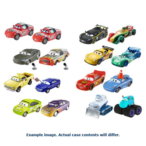 Cars 3 Character Car Vehicle 2-Pack Mix 1 Case