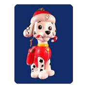 Paw Patrol Marshall Blow Mold Ornament