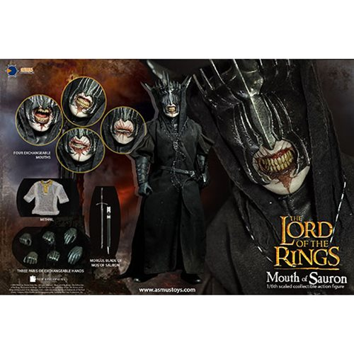 Lord of the Rings The Mouth of Sauron 1:6 Scale Action Figure